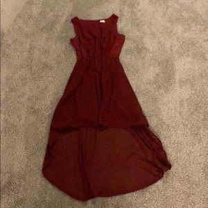 Francescas asymmetric textured dress
